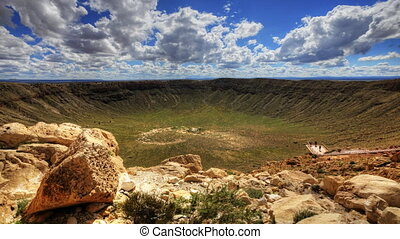Timelapse at Meteor Crater, Arizona - A timelapse at Meteor...