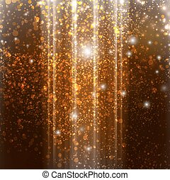 bokeh Descending - Background with bokeh descending, vector...