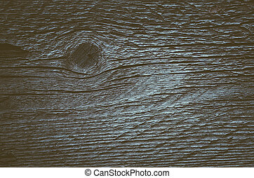 Blackboard with the knot - Old wooden board with knots and...