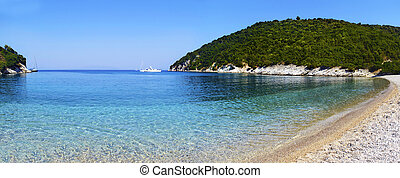 Filiatro beach in Ithaca island Greece