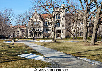UChicago Campus - On the campus of the University of Chicago...