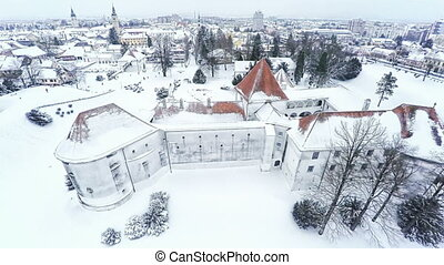 Varazdin Castle in Croatia - Varazdin Castle and Old Town in...
