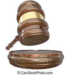 Judge Block Gavel Judgment Court Case Lawsuit Verdict