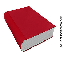 Book Red 3d Cover Novel Fiction Advice Help Manual