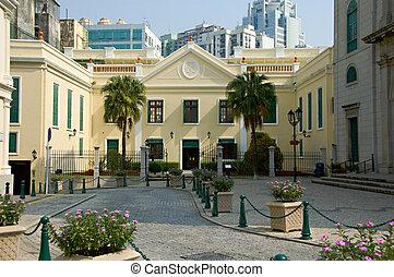Church - A view of classical chruch architecture in Macau