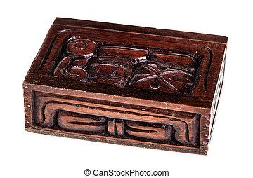 Honduran wooden box - a beautiful wooden casket or box...