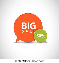 speech bubble pointers for big sale
