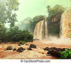 Iguazu - Iguassu Falls,instagram filter