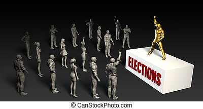 Elections Fight For and Championing a Cause