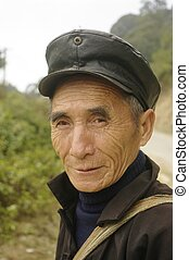 Male Hmong - Hmong man in his black suit. A small deviation...