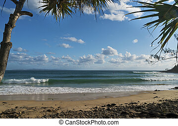 Noosa Tea Tree Bay View - View of Tea Tree Bay at Noosa...
