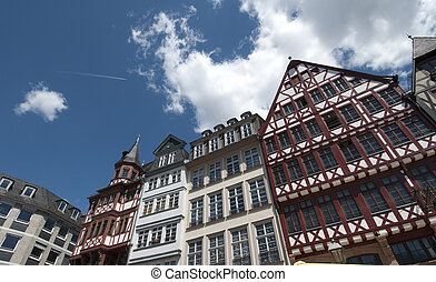 Frankurt, the Roemer - The Roemer in Frankfurt, Germany
