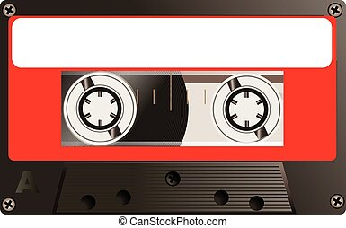 Cassette - Magnetic tape cassette for audio music recording...