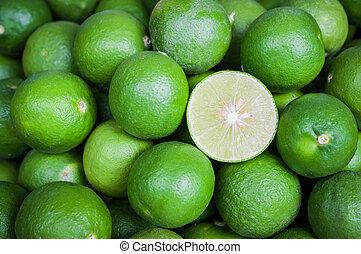 仍然, 綠色, 生活, 傷口, 檸檬