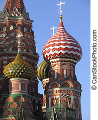 THe St. Basils Church in Moscow