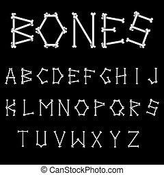 White Bones Font