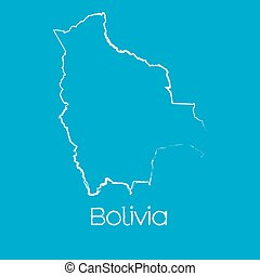 Map of the country of Bolivia - A Map of the country of...