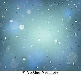 Abstract snow theme background