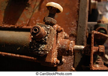 Rusted industrial equipment - Photo of rusted industrial...
