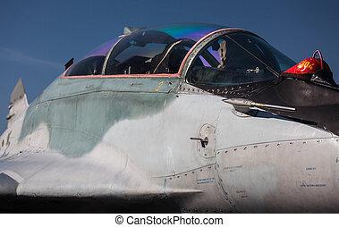 Mig-29 Fulcrum - airport