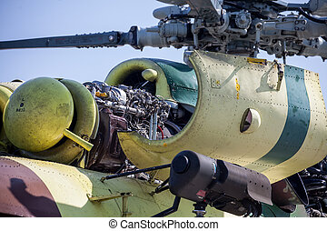 Engine of helicopter Mil Mi-17 - Engine of Helicopter
