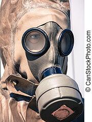 Respirator - gas helmet