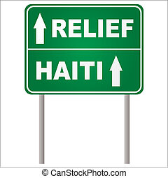 relief sign