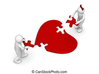 Love = puzzle