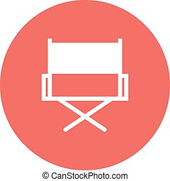 Director Chair - Director's chair, chair, film making icon...