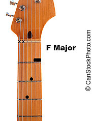 F Guitar Chord Diagram