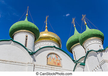 Saviour Transfiguration Cathedral in Suzdal -...