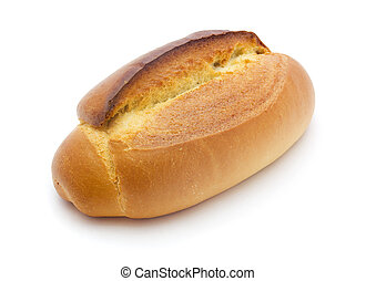 Loaf of bread - Loaf of freshly baked bread isolated on...