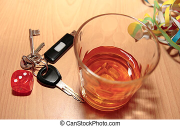 whiskey glass dice and keys - whiskey glass and keys and...