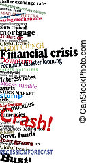 Financial crisis - Vector design of economic problem...