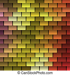 Colored Vector Shingles Background
