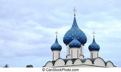 The Cathedral of the Suzdal Kremlin. Russia