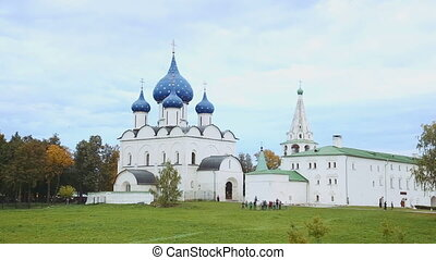 The Cathedral of the Suzdal Kremlin Russia