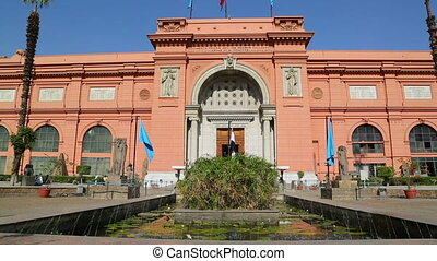 Egyptian Museum in Cairo, Egypt - CAIRO, EGYPT - DECEMBER...