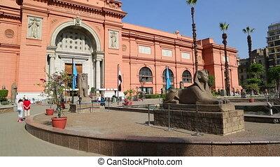 Egyptian Museum in Cairo, Egypt - CAIRO, EGYPT - DECEMBER...