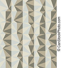 Geometric pattern in shades of ash
