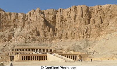 Famous temple of Hatshepsut in Luxor Egypt - Famous ancient...