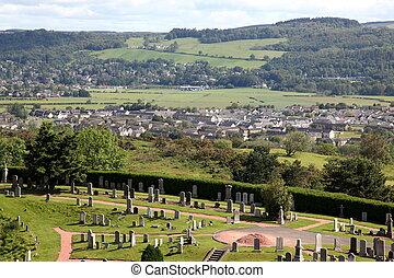 Stirling city in Stirlingshire, Scotland, UK