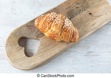 Croissant - Delicious french croissant for a sweet breakfast