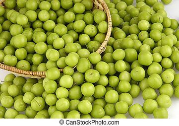 green plum                     - green plum