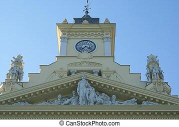 Ayuntamiento de Malaga in Spain
