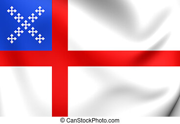 Flag of Episcopal Church - 3D Flag of Episcopal Church....