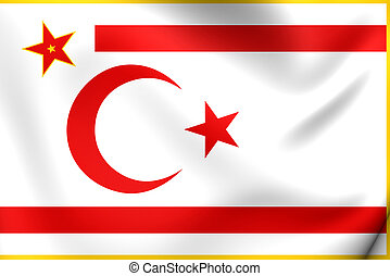 President of the Turkish Republic of Northern Cyprus Flag....
