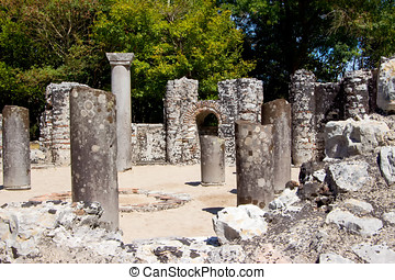 Remains of ancient city