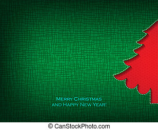Christmas tree - Merry Christmas and happy new year...