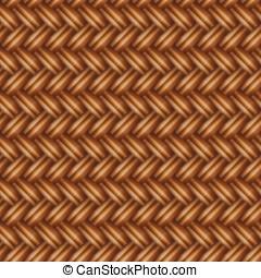 Seamless weaving
